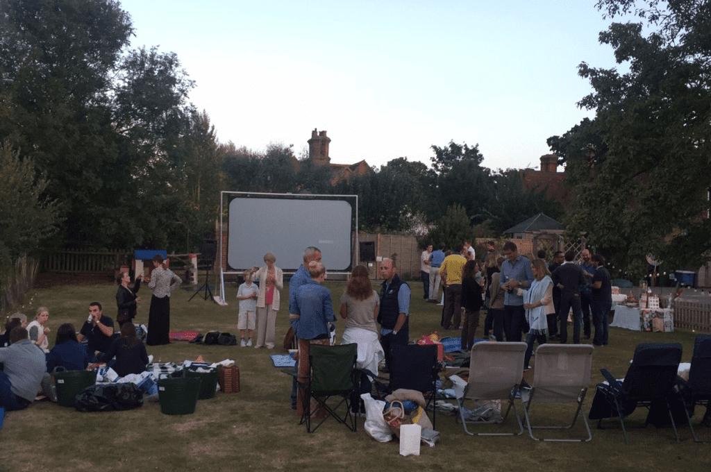 Mobile Cinema Hire Prices - Skylight Cinema UK