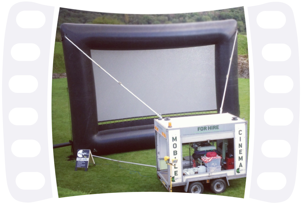 Pop-Up Cinema Hire - Skylight Cinema UK