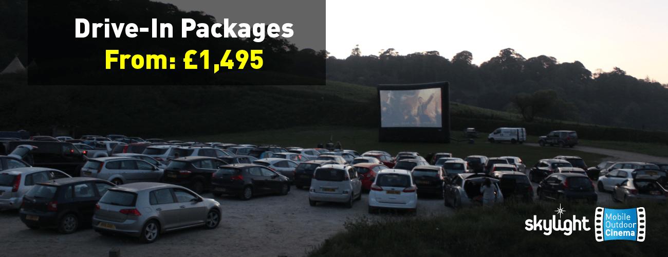 Drive In Cinema Equipment Hire Skylight Cinema Uk